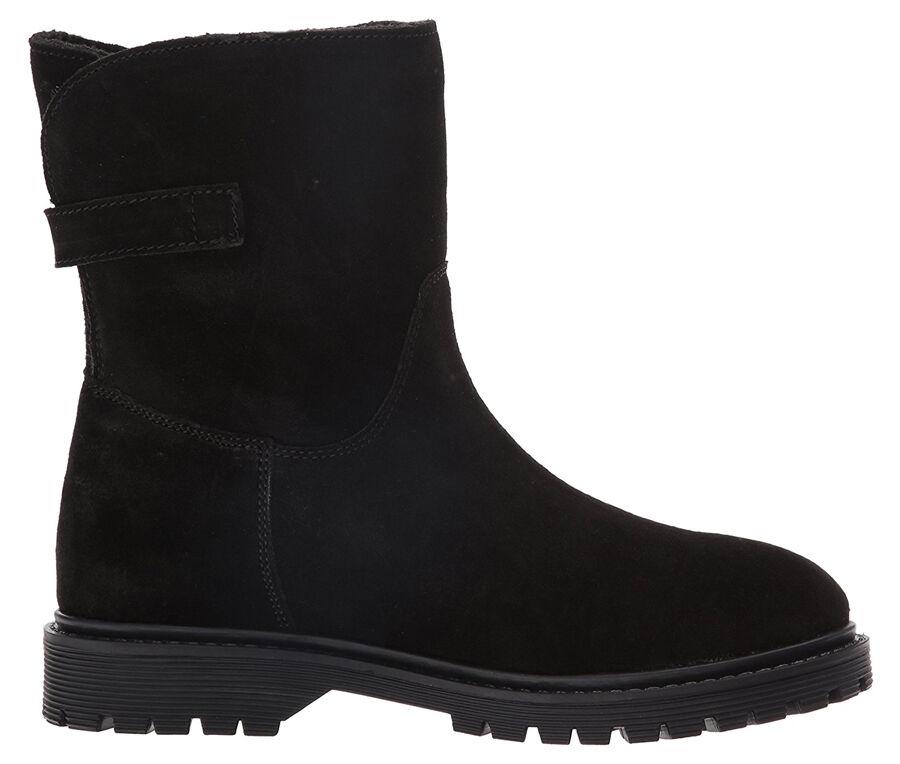 New SKECHERS Coze Damens 7 Leder Stiefel Sz 7 Damens blk d9bed8