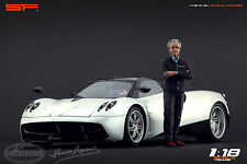 1/18 Horacio Pagani VERY RARE!!! figures for1:18 CMC Autoart Zonda Huayra
