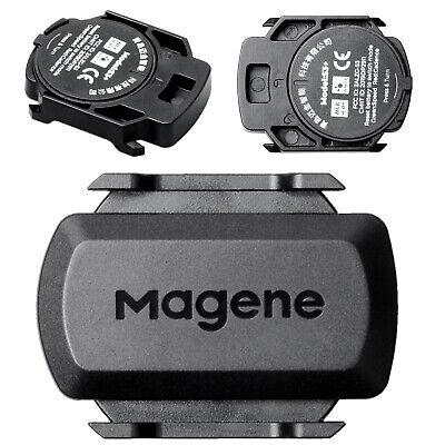 ANT+Bluetooth Bike Wireless Speed/&Cadence Sensor Dual Band for Garmin GPS Bryton