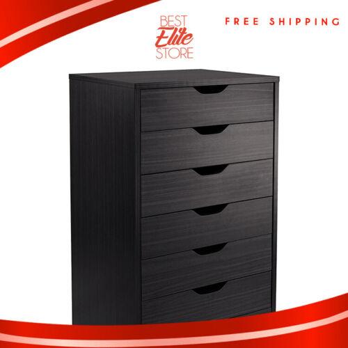 7 Drawer Dresser For Bedroom Dressers Espresso Black 6 5 4 3 Organizer Dividers