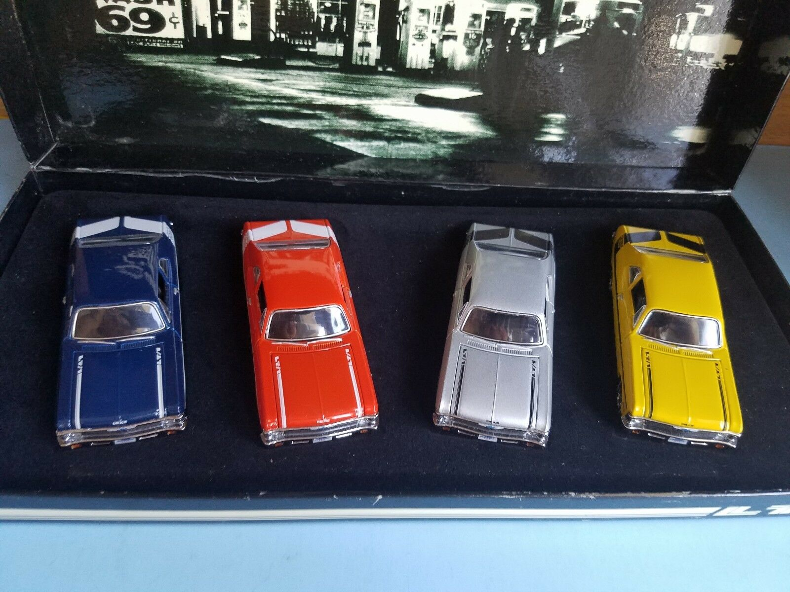 1/43 GMP 1970 CHEVROLET NOVA YENKO DEUCE SET OF 4