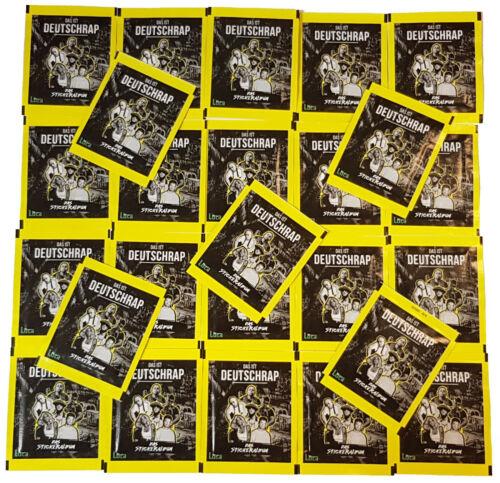 etiquetas engomadas de la 125 Panini es Deutschrap pegatinas 25 bolsas