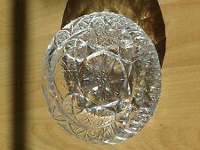 Aschenbecher aus Bleikristallglas BOHEMIA 1960 Jahre Rarität.