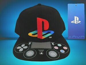 NWT  Youth Sony PlayStation Logo Adjustable Snapback Cap Hat Bioworld OSFM