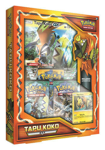 Pokemon Tapu Koko GX Box THE POKEMON COMPANY INTERNATIONAL