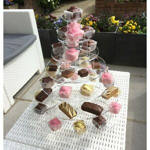 Cake or canap display stand ebay for Canape display stands