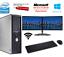 Bon-Marche-Dell-Dual-Screen-17-034-TFT-Ordinateur-De-Bureau-PC-Ordinateur-250-Go-4-Go-Windows-10 miniature 1
