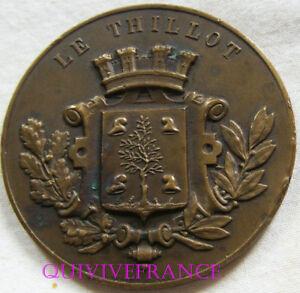 100% De Qualité Med6369 - Medaille Fete D'athletisme Le Thillot 1927