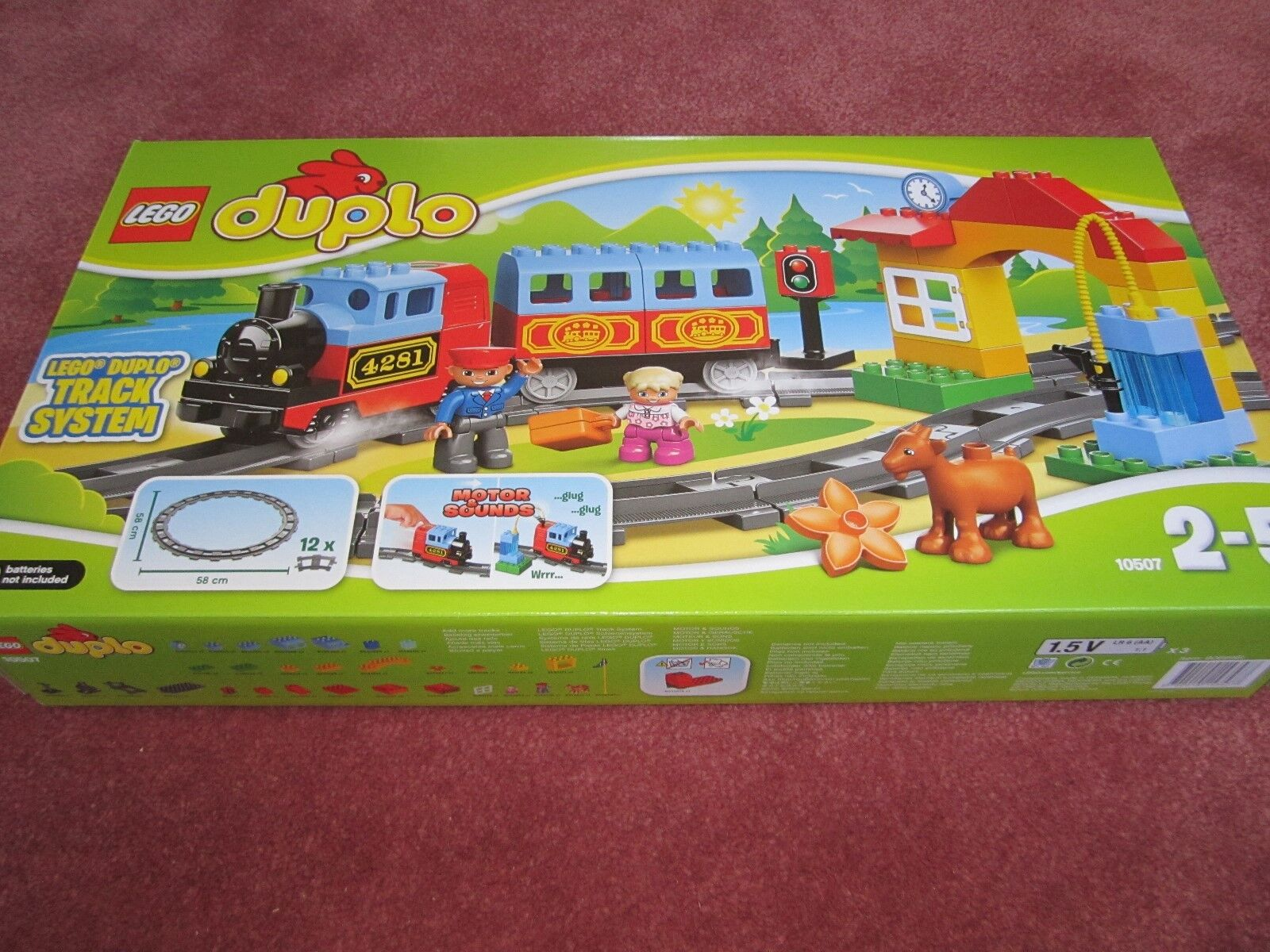 LEGO Duplo My First Trains Set (10507) - NEW BOXED SEALED
