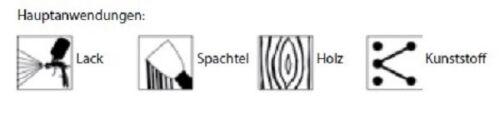 MIRKA ABRANET MEULES netzgitter Micro Quantité Velcro 150 mm K 150 ve-10
