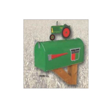 """NEW McCORMICK FARMALL /""""M/"""" RURAL MAILBOX WITH TRACTOR TOPPER RMB-M"""