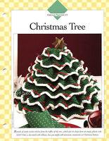 Christmas Tree Centerpiece Keepsake Decor Crochet Pattern