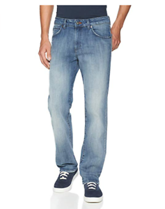 Lee Modern Series Straight Fit, Straight Leg Mens Stretch Jeans 38x29  (2013662)