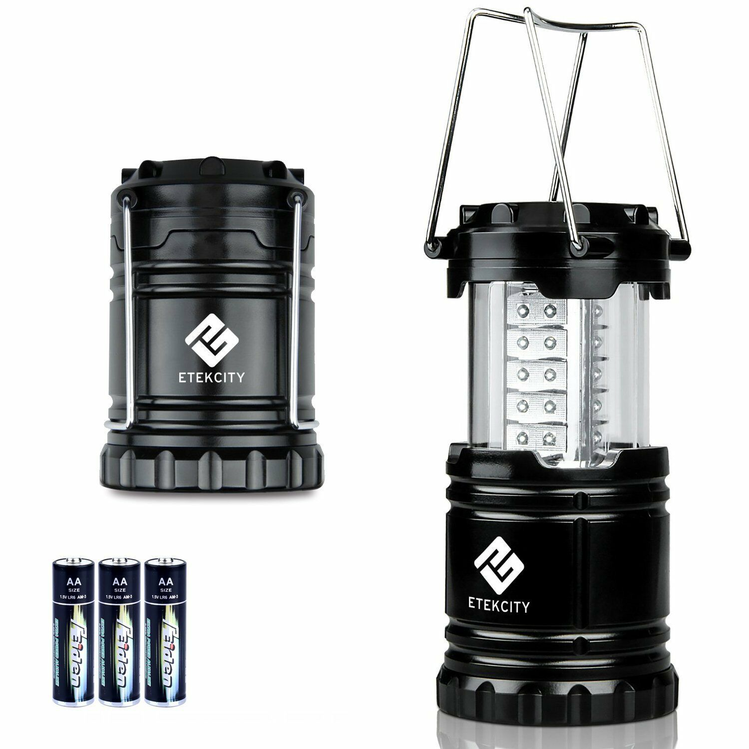 Portable Collapsible 30 Led Flashlight Camping Lantern With 3 Aa Simple Torch Using Single 15v Battery Norton Secured Powered By Verisign