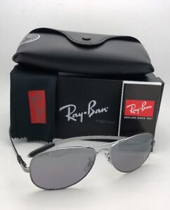 3079fcd5dd4 Ray-Ban Polarized Sunglasses Tech RB 8301 004 N8 59-14 Gunmetal w ...
