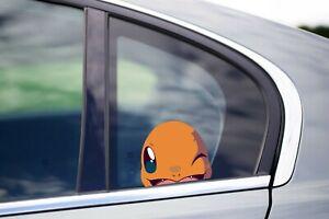 Pokemon Go JDM Vinyl Decal Sticker Pokemon Charmander  Anime Window Car Decal