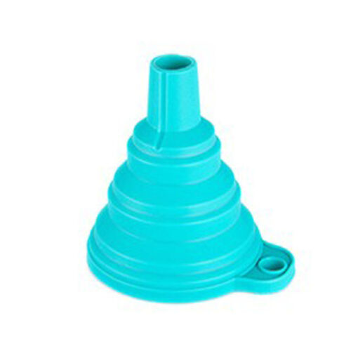Home Collapsible Silicone Gel Practical Foldable Funnel Hopper Kitchen Tools