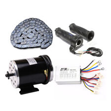 48V DC Electric Brushed speed Motor 1000W w// Controller DT8F-11T T8Fchain Moped