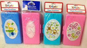 New Baby Diaper Wipes Case Refillable Wipes Container