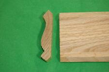 """lot of 6pc of 3/4""""x3-1/4""""x7' Oak Crown Moulding"""