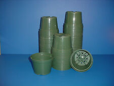 "50 New Round 5""inch Plastic Azalea Flower & Nursery Pots"
