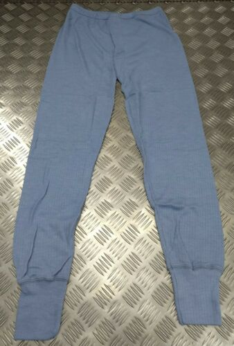 Genuine EU Made Damart Thermal Long Johns Thermolactyl Technology RAF Blue