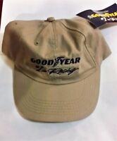 Goodyear Tires 1 In Racing Adjustable Hat/cap - You Choose Color