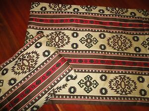 MIGHTY TACT SOUTHWESTERN BROWN RED ALMOND BLACK (PAIR) STANDARD PILLOW SHAMS eBay
