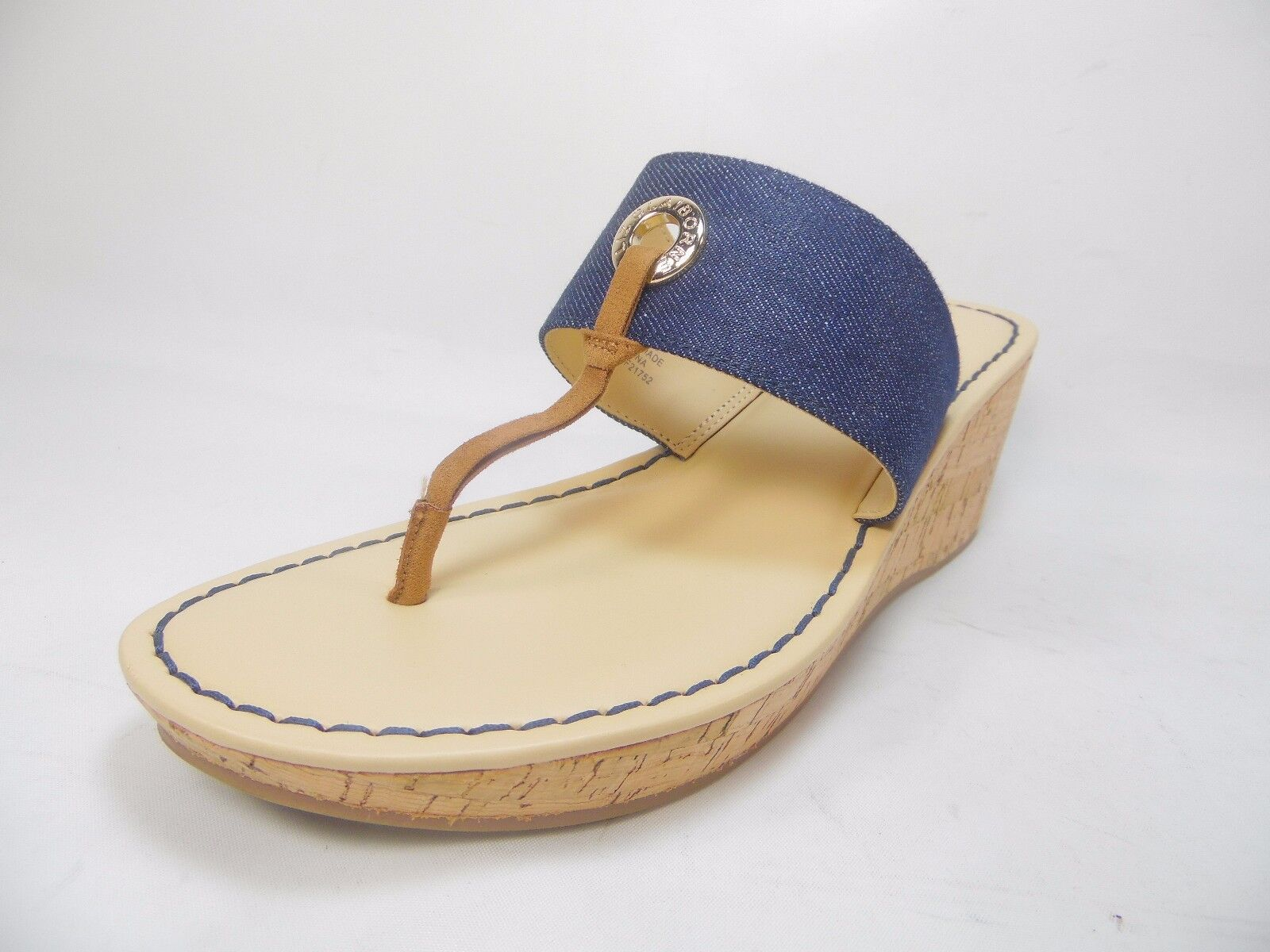 Liz Claiborne Lively Womens Sandals  8M Denim Size 8M