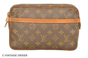Louis Vuitton Monogram Compiegne 23 Clutch Bag M51847 - YG01219