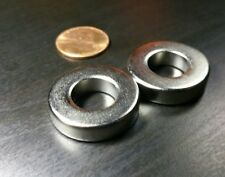 4 Large Neodymium N52 Ring Magnets Super Strong Rare Earth 1 X 14