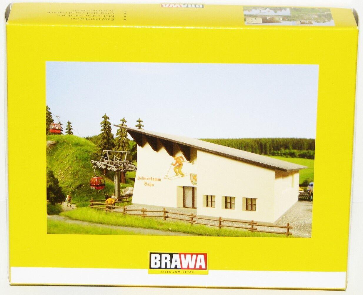 Brawa h0 6343 hahnenkammbahn edificio conjunto de Nagorno-y teleféricos-nuevo + embalaje original