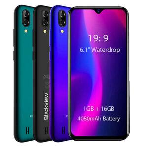 Telephone-Portable-debloque-Blackview-A60-Android-8-1-Dual-SIM-13MP-Smartphone