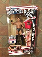 WWE ELITE COLLECTION THE MIZ BEST OF PAY PER VIEW WRESTLEMANIA 28 BUILD A FIGURE Toys