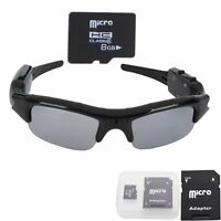 8GB Surveille HD Sun Glasses Spy Camera DVR Eyewear Video Cam Camcorder Security