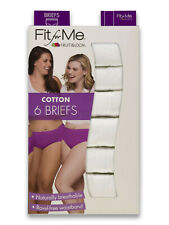 Fruit of the Loom Women/'s Plus Size 11 Fit for Me Pack of 6 Hi-Cut Underwear