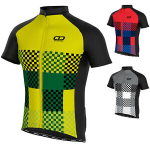 Didoo Mens Summer Cycling Jerseys Breathable Short Sleeve Biking Tops Mountain L