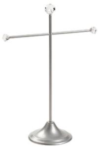 Bracelets /& Finger-tip Guest Towels Medium T-Bar Display Stand For Necklaces