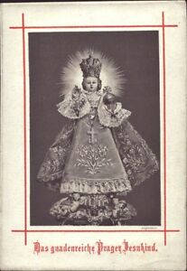 Prag-Jesus-Nino-Cuadro-Santos-Amria-Imagen-Milagrosa-Bohemia-B-6667