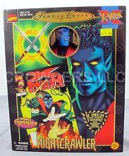 "Marvel Comics Famous Cover Series XMen Classics NIGHTCRAWLER 8"" Figure '99 NIP"