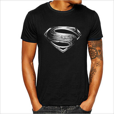 T-Shirt Superman Héros Comic Marvel Avengers DC Super-héros Man de Steel NEUF
