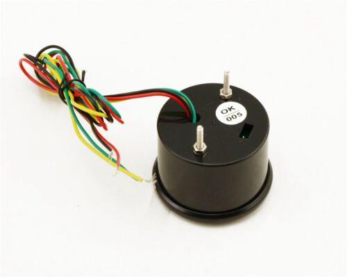 """US 2/"""" 52MM Colorful LED Digital Voltmeter Voltage Tachometer RPM Gauge 1-8 Cylin"""