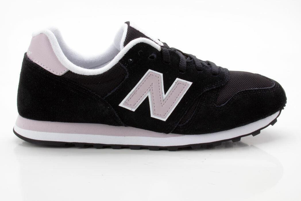 New Balance WL373BLG Schuhe Freizeit Retro Turnschuhe 698651-50 8 schwarz