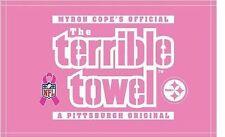 item 6 MYRON COPE S PITTSBURGH STEELERS BCA BREAST CANCER AWARENESS PINK  TERRIBLE TOWEL -MYRON COPE S PITTSBURGH STEELERS BCA BREAST CANCER  AWARENESS PINK ... 7bb946d9a