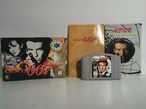 GoldenEye 007 (Nintendo 64, 1997) TESTED WORKING COMPLETE in BOX