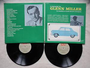 2-LP-The-Members-Of-Glenn-Miller-039-s-Orchestra-034-A-Memorial-For-Glenn-Miller-034