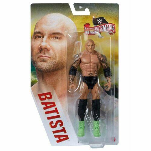 nueva En Caja Mattel WWE Lucha Libre ganó 36 Acción Figura Batista