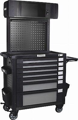Stahlmayer-Werkzeugwagen&Zubehör Expert-Line Maxi mit 7Schubfächern schwarz/grau