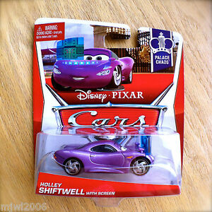 Disney-PIXAR-Cars-HOLLEY-SHIFTWELL-with-SCREEN-on-PALACE-CHAOS-diecast-1-9-2013