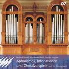Aphorismen,Intonationen Und Choralvorspiele von Helmut Brand,Martin Hagner,Ingo Bredenbach (2010)